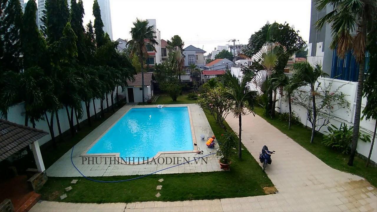 Biệt thự sân vườn với hồ bơi view đẹp LH : 0903562452