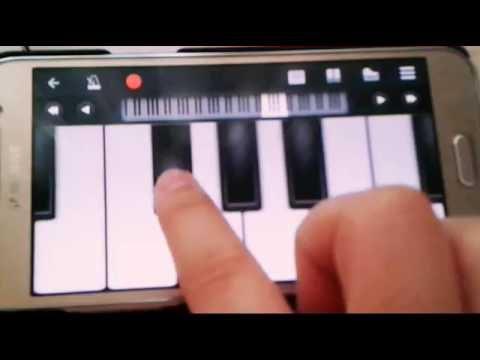 """Kaçak Gelinler Dizisi Müziği """"Acaba"""" (Android Piyano)"""