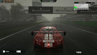 Assetto Corsa Competizione - Heavy Rain at Monza Gameplay [4K 60FPS]
