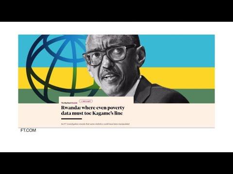 Journal de l'Afrique - Rwanda : selon le Financial Times, Kigali aurait modifié ses statistiques sur la pauvreté