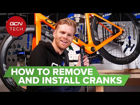 How To Remove And Install Bicycle Cranks | Road Bike Crankset Removal & Replacement thumbnail