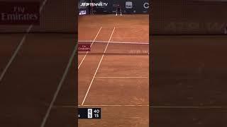 Tennis Tweeners Are Hard 🤣 #Shorts