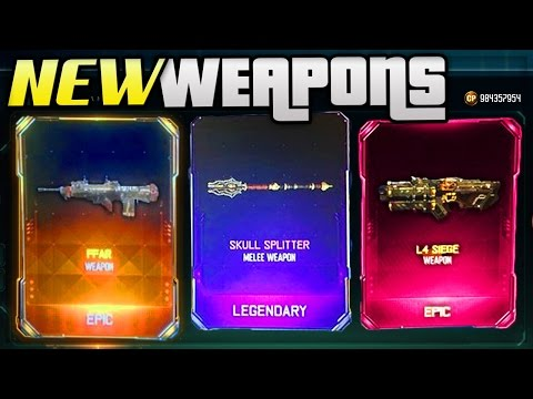 BLACK OPS 3 NEW DLC WEAPONS UPDATE! SUPPLY DROP OPENING (COD BO3 RARE DLC WEAPONS)