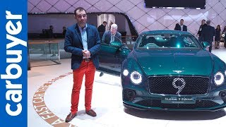 Bentley Continental GT Number 9 Edition showcased at Geneva Motor Show