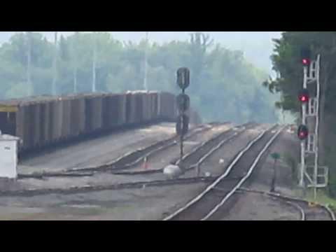 Corbin Kentucky, old L&N station, Huge freight yard!