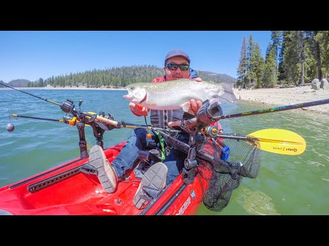 Shaver Lake Trout Fishing And Not The Best Release