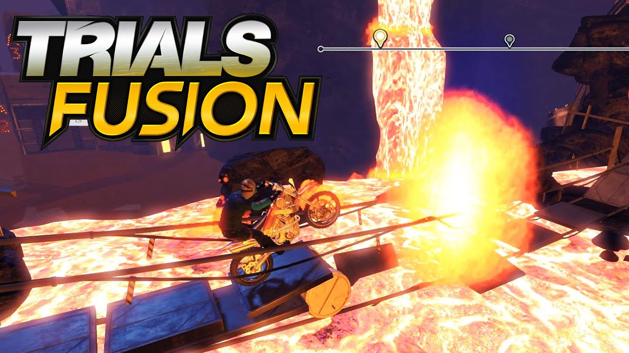 Trials fusion 008 der boden ist lava fly reloaded for Boden ist lava