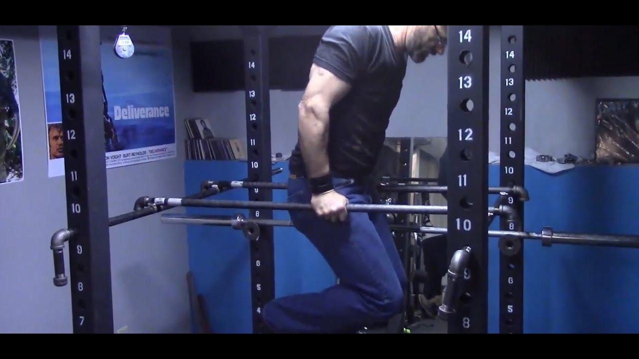 How to add dip bars to our power rack diy duke youtube solutioingenieria Choice Image