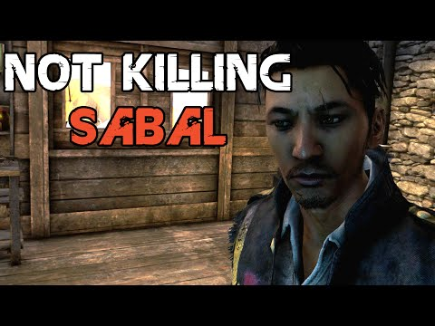 Far Cry 4 - Not Killing Sabal