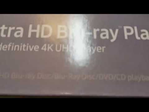 Detailed Unboxing & Setup of 2017 Samsung UBD-M9500 4K UHD Blu-Ray Player