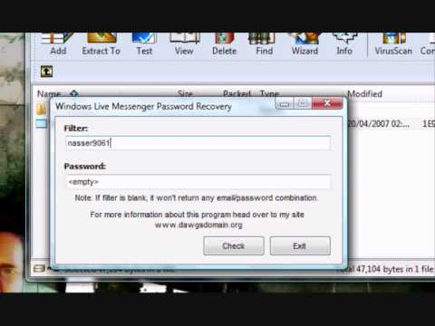 Msn Messenger Password Recovery