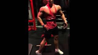 Trening w Burneika sports gym początek redukcji 2017 Video