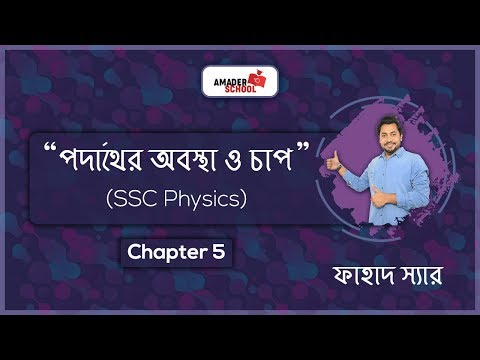 SSC Physics | Chapter 5 | Pressure and States of Matter