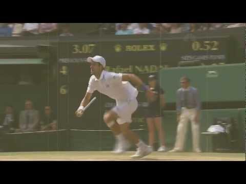 Djokovic/Federer/Nadal...Poetry in Slow motion  *HD*