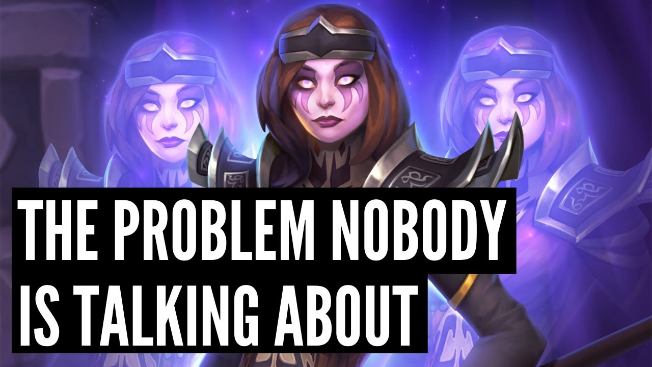 The PROBLEM with the Core Set that NOBODY is talking about! | Darkmoon Races | Hearthstone