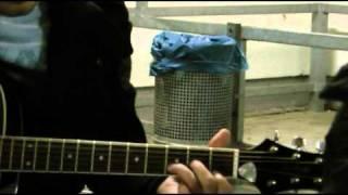 Изгиб гитары жёлтой  дубль