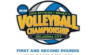 Kansas vs. Arkansas-Little Rock // NCAA Volleyball Tournament First Round // 12.5.14