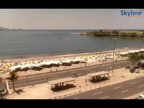 Live Webcam Carnival in Rio de Janeiro - Time Lapse