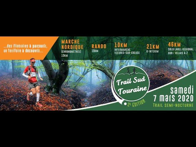 2éme Trail Sud Touraine 2020 46 km (TST)