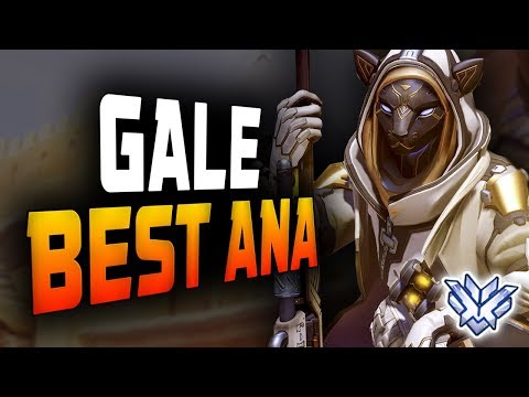 Gale Amazing Ana Gameplay! 13K HEAL! [ OVERWATCH SEASON 14 TOP 500 ] thumbnail