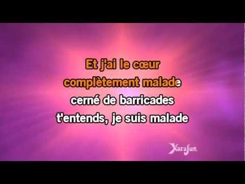 Karaoké Je suis malade - Lara Fabian *