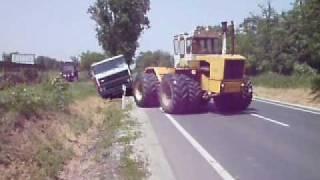 mtz 82.1 +mtz892-es és a RÁBA kamion húzása