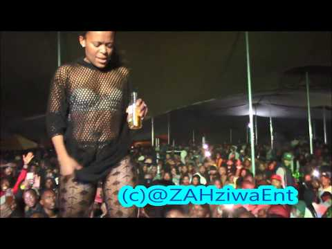 Zodwa WaBantu Closing the Show in Cape Town with the Litest Dance Moves