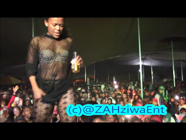 Zodwa WaBantu Closing the Show Cape Town with the Litest Dance Moves