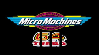 Nintendo 64 Longplay [042] Micro Machines 64 Turbo