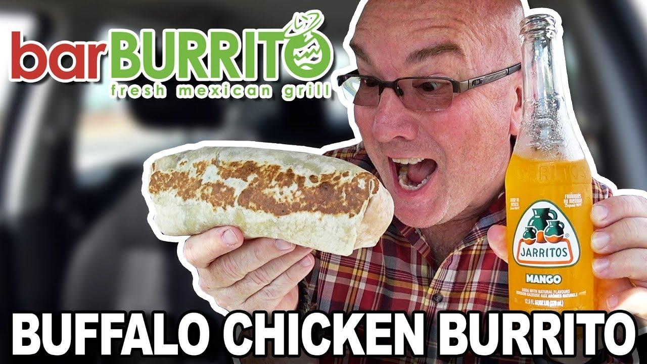 BRAND NEW BarBurrito Restaurant ???? Buffalo Chicken Burrito Review