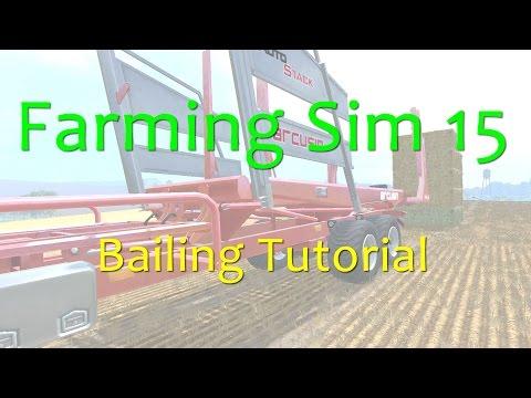 Farming Simulator 15 - Baling Tutorial - Round or Square