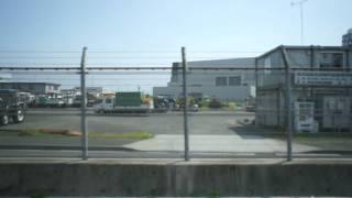 羽田空港D滑走路見学バスツアー 車窓映像 Part1