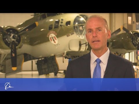 Boeing CEO Announces Changes to Sharpen Company Focus on Product and Services Safety