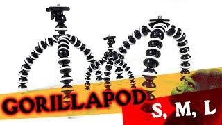 Tripod Flexible Gorilla Pod Large L - Jumbo Octopus Gurita Free Holder U For Smartphone