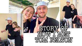 HOW I MET TOM FELTON – manifesting, reaction and storytime