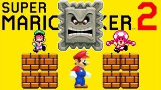 Epic Fails in Super Mario Maker Multiplayer! (Super Mario Maker 2)