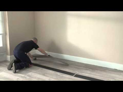 How to install a Quick Step Livyn floor glue down installation)