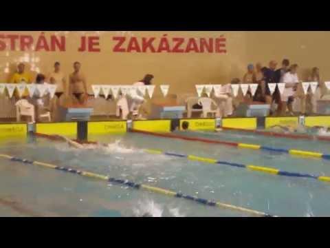 MSR-M Kosice 2011_4x50 medley relay women PVK Bratislava.MP4