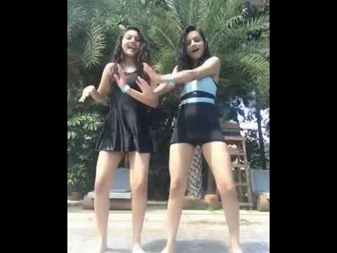 Short skirt dance in farm house