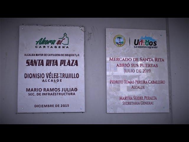 Rafael Caraballo Posada opina sobre la apertura del nuevo Mercado de Santa Rita