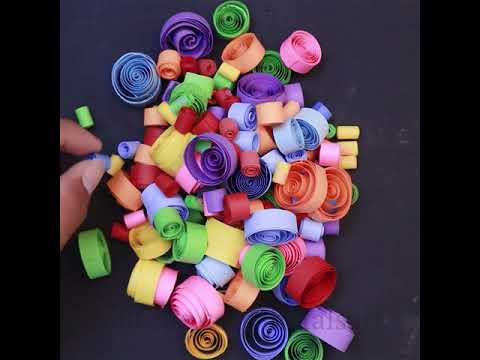 Colorful… DIY Room Decor || DIY Paper Craft Projects