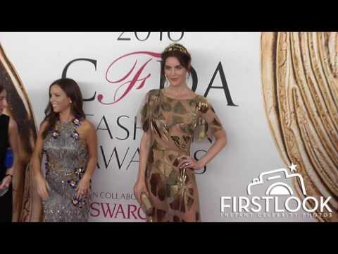 Hilary Rhoda at the 2016 CFDA Fashion Awards