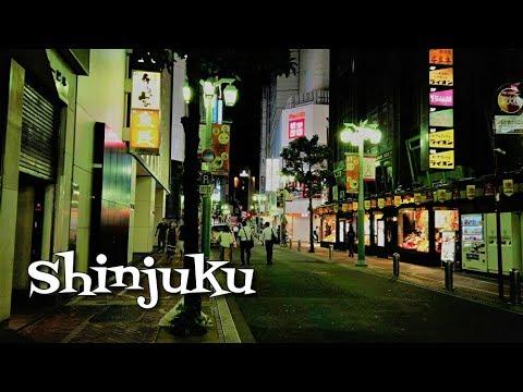 ??? ????????? Walking around Shinjuku SouthEast Area at night