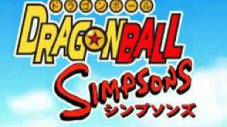 dragonball simpson