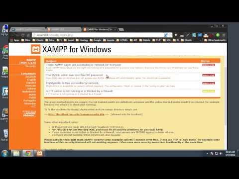 Install XAMPP In Windows 7