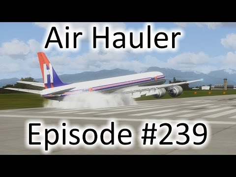 FSX | Air Hauler Ep. #239 - The Last DC-8 Flight | DC-8-73F