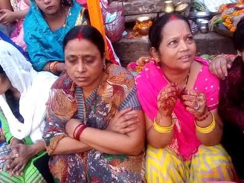 In Varanasi Chhath Puja at dashashwamedh Ghat