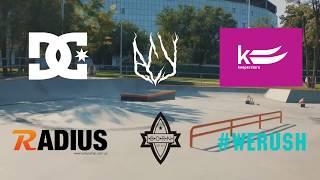 Открытие Скейтпарк Одесса Ukrainian Skateboarding Cup<
