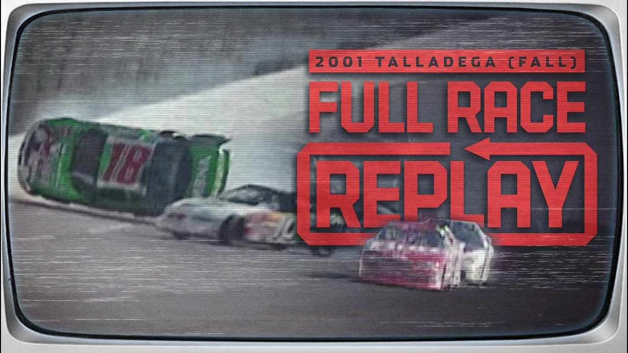 2001 EA Sports 500 from Talladega Superspeedway | NASCAR Classic Race Replay
