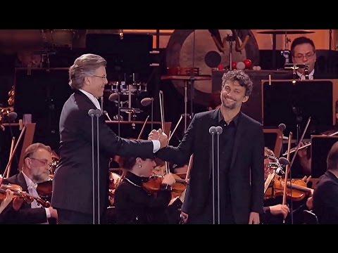 "Jonas Kaufmann/Thomas Hampson✦♬ ""Dio, che nell'alma infondere""~aus Don Carlos"